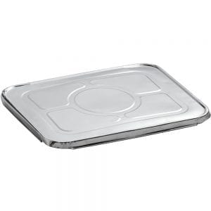 half tray catering lids