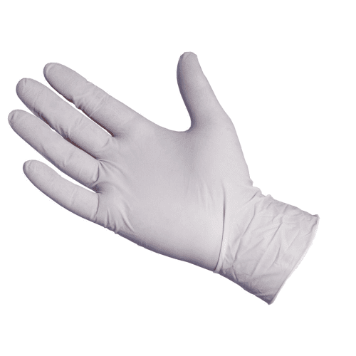 latex gloves by the case